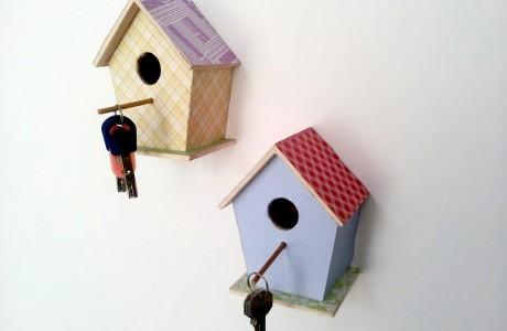 שובך למפתחות וגם תחפושת ציפור